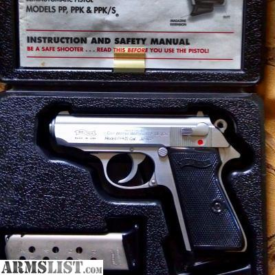 armslist for sale interarms walther ppk s in rare 32acp rh armslist com walther ppk/s owners manual Walther PPK S Manufacture Date