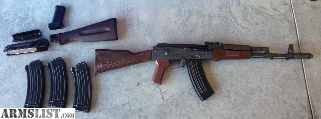 Russia AK74 n Rifle Caliber 5.45x39 New AK 74 For Sale at ...
