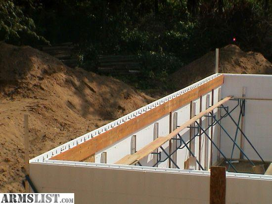 ARMSLIST - For Sale: Insulated Concrete Forms/ Walk in safes/shelters