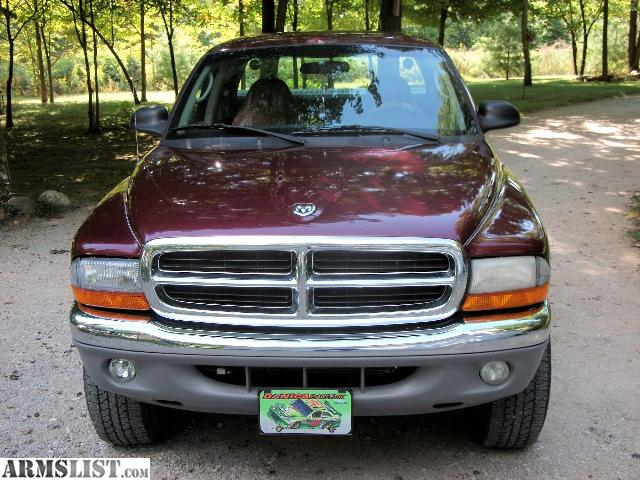 armslist for sale trade 2001 dodge dakota slt ext cab 4x4. Black Bedroom Furniture Sets. Home Design Ideas