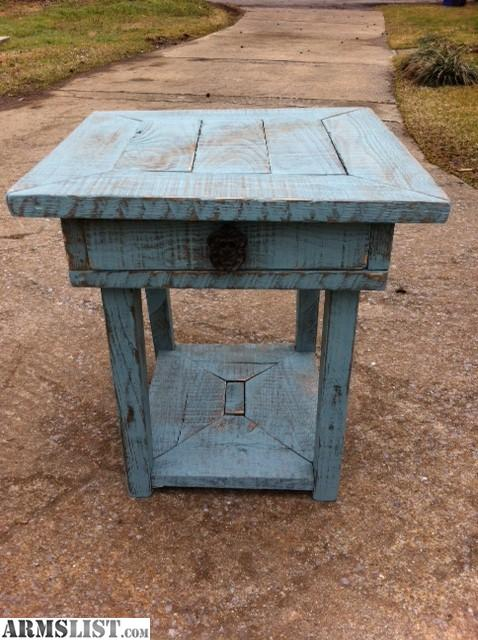armslist for trade custom rustic furniture tables