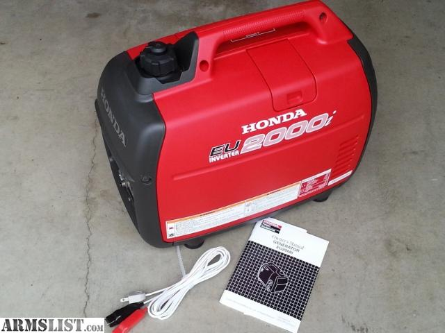 Armslist for sale trade honda eu2000i inverter for Honda financial services customer service number
