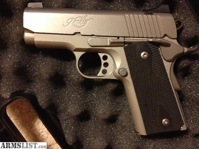 For Sale Kimber Compact Stainless 1911 45 – Wonderful Image