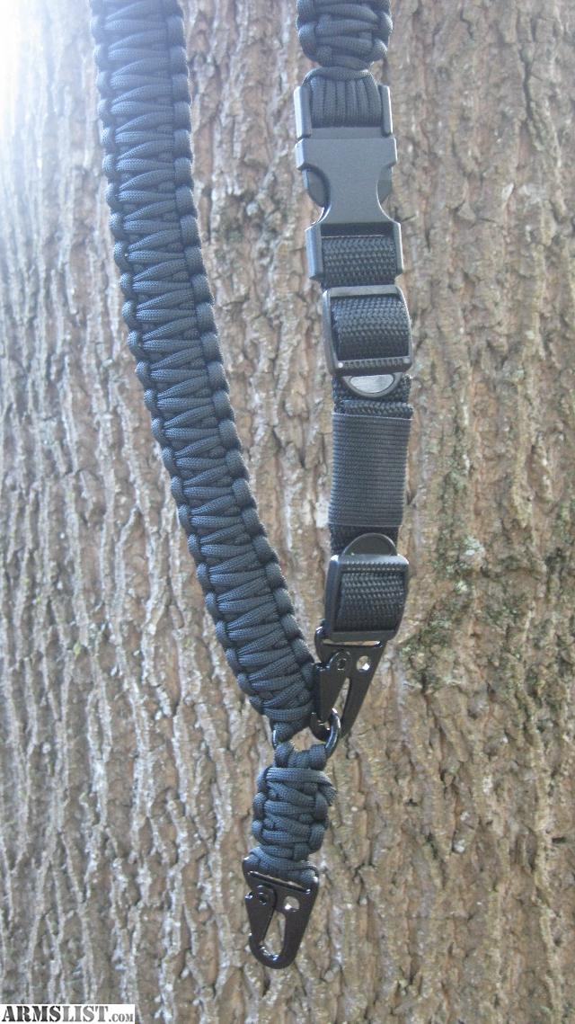 ARMSLIST - For Sale: Black one and two point paracord AR ...