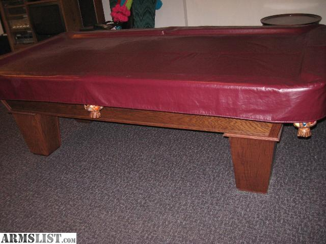 Armslist for sale trade kasson pool table for ammo or for 1 inch slate pool table