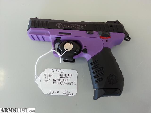 Purple Ruger Gun