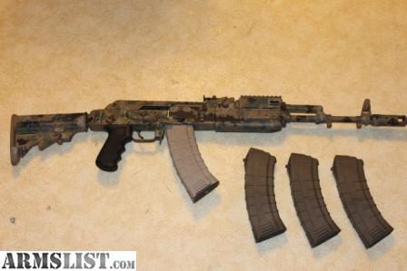 ARMSLIST - For Sale: == Camo AK-74 Tactical Stock Custom ...