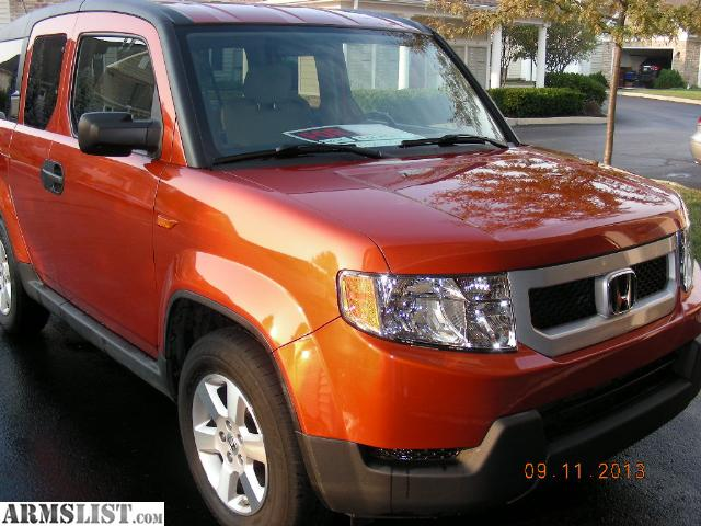 armslist for sale trade honda element 2010 ex awd. Black Bedroom Furniture Sets. Home Design Ideas