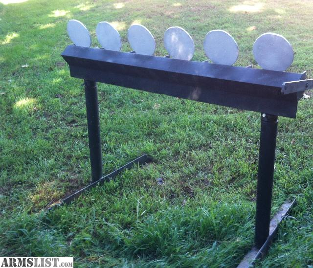 Steel Plate Rack Target & ARMSLIST - For Sale: Steel Plate Rack Target