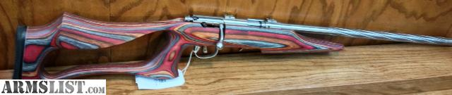 Armslist for sale savage 93r17 laminated thumbhole stock ss share sciox Images
