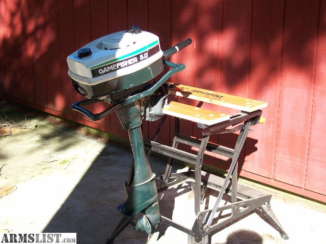 Armslist for sale 5hp gamefisher outboard motor for 5hp outboard motor for sale