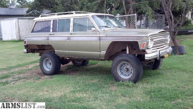 Armslist For Sale Wtt 1972 Jeep Wagoneer
