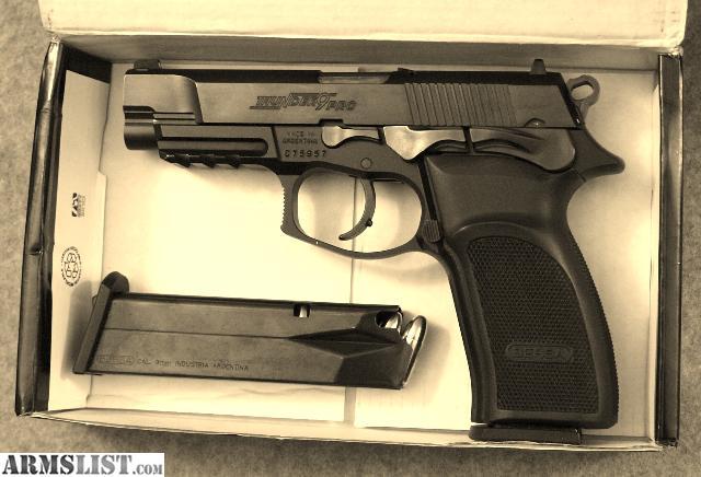 ARMSLIST - For Sale: Bersa Thunder 9 Pro 9mm