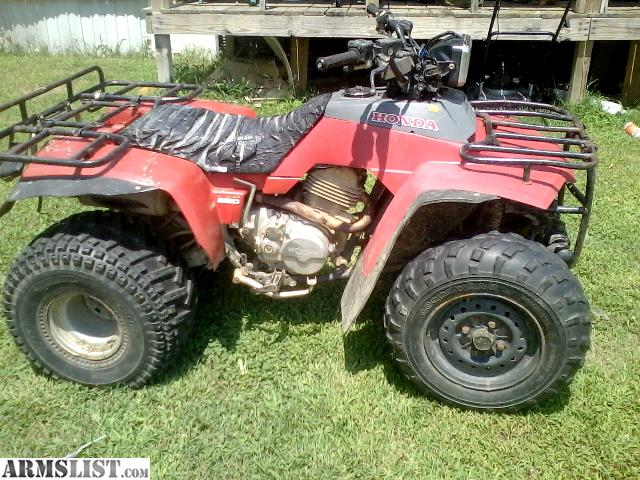 ARMSLIST - For Sale: 1986 honda fourtrax 250