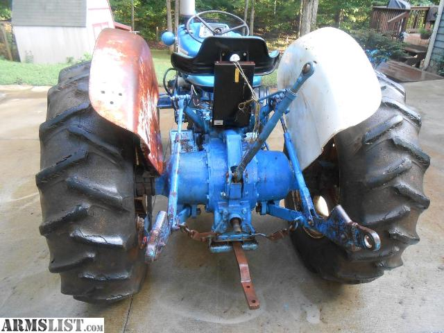 Ford 4000 Diesel Tractor : Armslist for sale trade ford diesel farm tractor