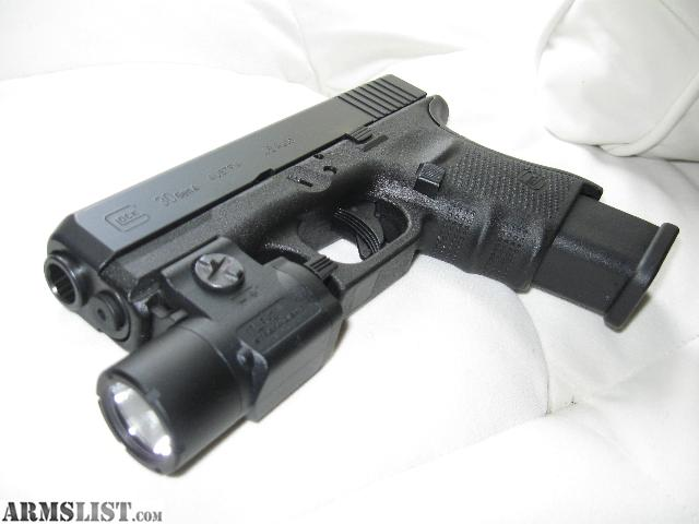 armslist for sale glock 30 gen 4 wtlr3 light