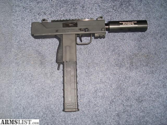 ARMSLIST - For Sale/Trade: Masterpiece Arms MAC 10 in 9mm