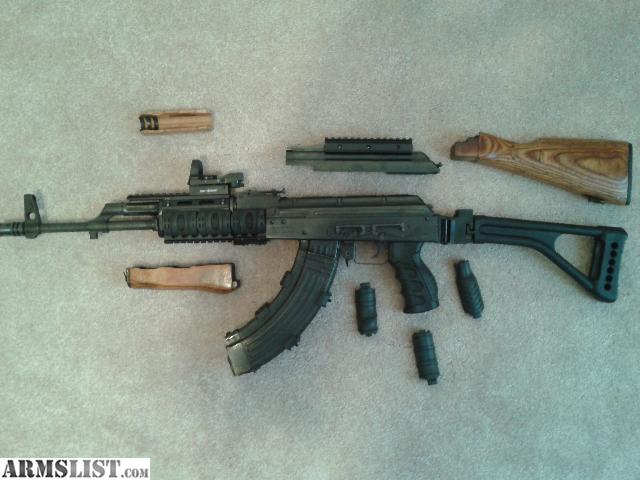 ARMSLIST For Sale Trade AK 47 wasr 10 63 tactical w 8 mags 700