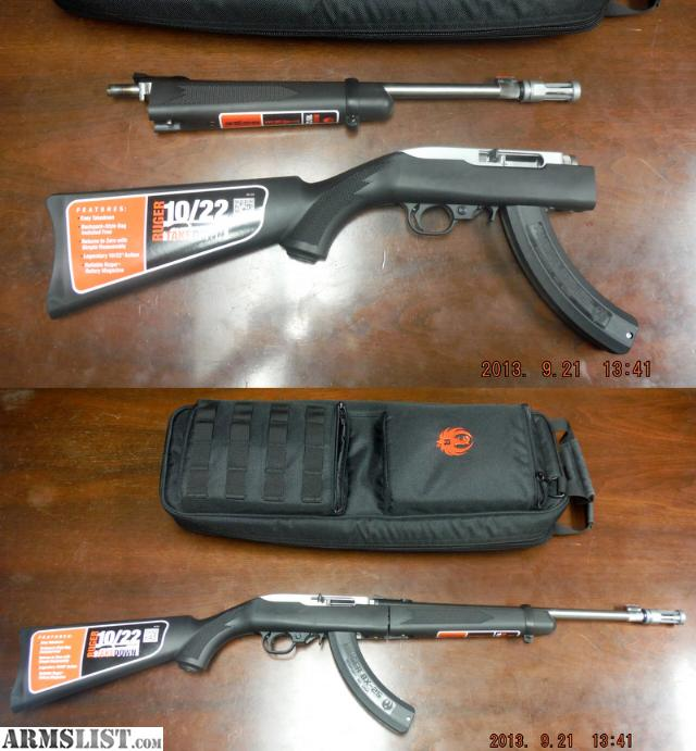 Ruger 10 22 takedown rifle for sale