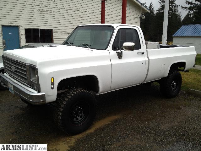 armslist for sale 1980 k20 truck lifted w 33 beautiful truck. Black Bedroom Furniture Sets. Home Design Ideas