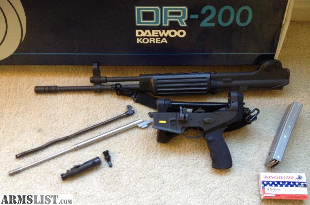 ARMSLIST - For Sale/Trade: Daewoo K2 (DR-200)
