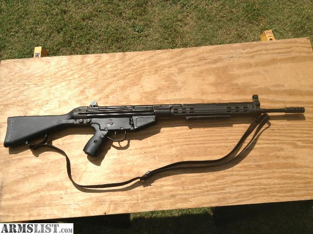 Cetme G3 For Sale: For Sale: CETME, G3, HK91 7.62x51 Rifle With Ammo