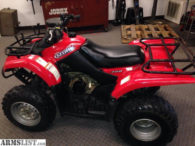 ARMSLIST - For Sale/Trade: 07 Suzuki Ozark 250cc Red