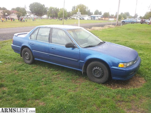Armslist For Sale Trade 1991 Honda Accord Great Mpg