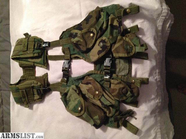 ARMSLIST - For Sale: Military Issue Web Gear LBE