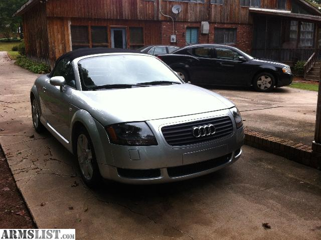 armslist for sale trade 2002 audi tt convertible low miles for gun collection. Black Bedroom Furniture Sets. Home Design Ideas