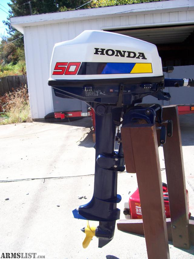 Armslist for sale trade mint condition 5hp honda for Honda outboard motor sales