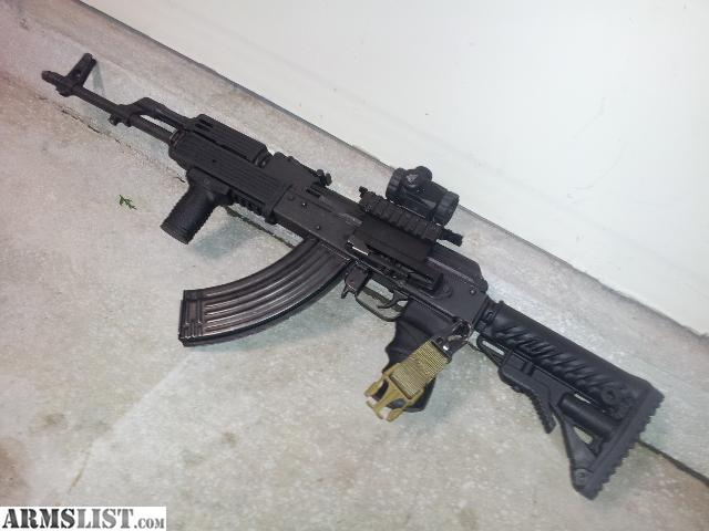 ARMSLIST For Sale ak 47 wasr 10 63 UPGRADED