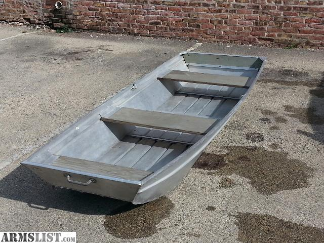 Aluminum Boat Benches : Armslist for sale trade ft aluminum jon boat ready