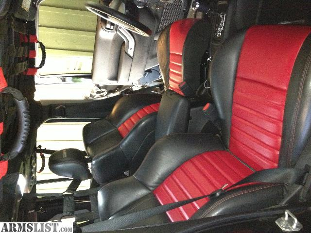Armslist For Sale Trade Fs Ft Dodge Charger Srt8 Seats Custom In Red Leather Fits Jeep Jk