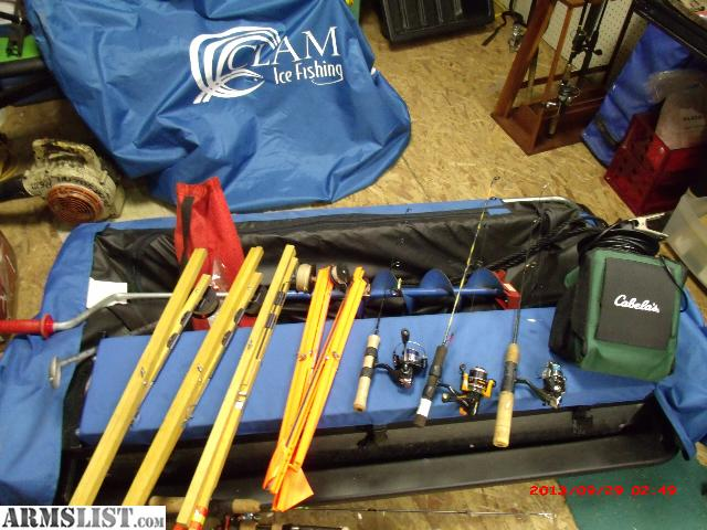 Armslist for sale ice fishing hut equipment for Fishing equipment for sale