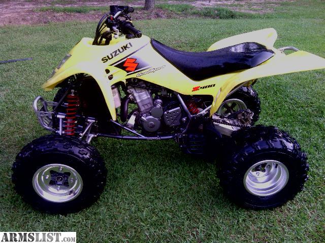 armslist - for sale/trade: suzuki z 400 4 wheeler excellent