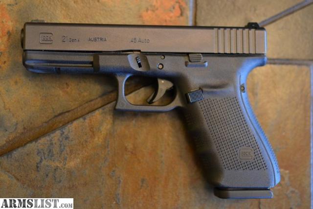 Armslist For Sale Glock 21 Gen4 45 Used W Night Sights