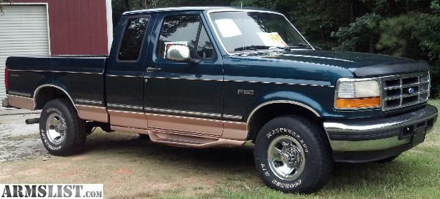 armslist for sale 1995 ford f150 eddie bauer ext cab 4x4 low miles. Black Bedroom Furniture Sets. Home Design Ideas