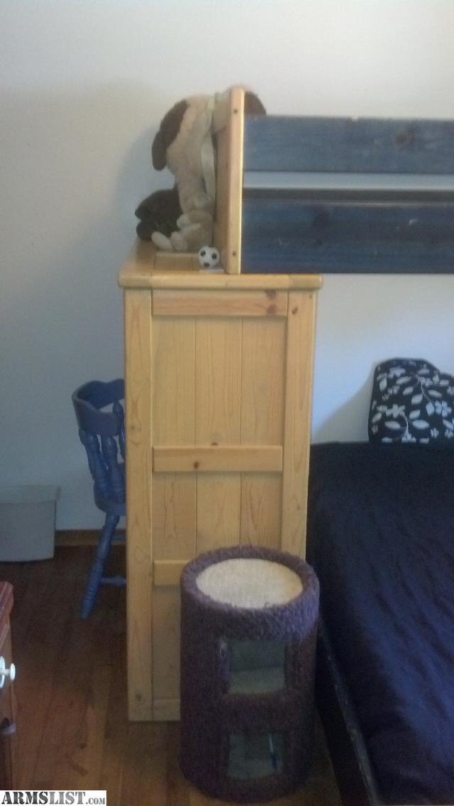 Armslist For Sale Trade Kids Real Wood Bunk Bed Dresser