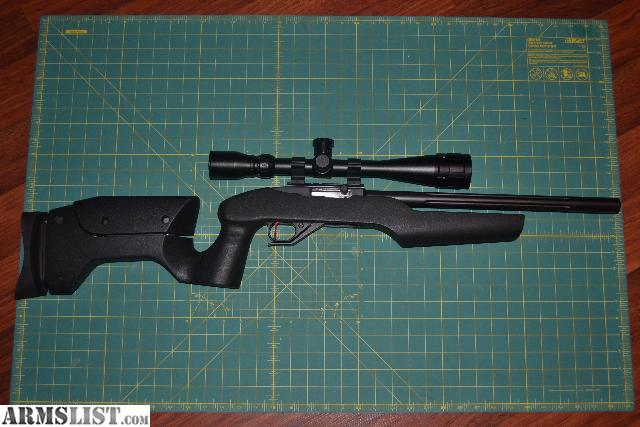 ARMSLIST - For Sale: ONE OF A KIND 10/22 RIFLE / PISTOL COMBO
