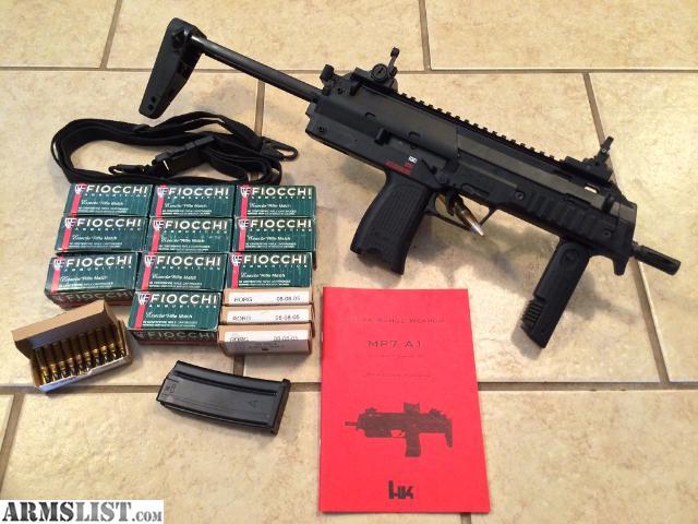 Heckler Koch MP7A1 | boomsticks | Pinterest | Heckler & Koch ...