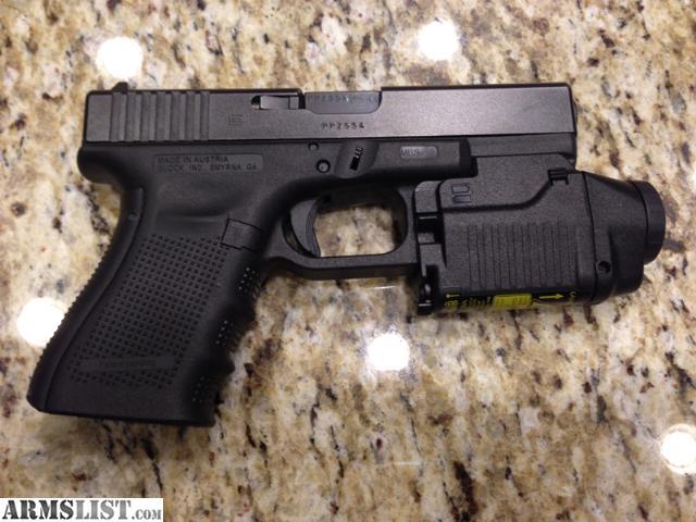 ARMSLIST - For Trade: Glock 19 Gen 4 with Glock GTL 22 ...