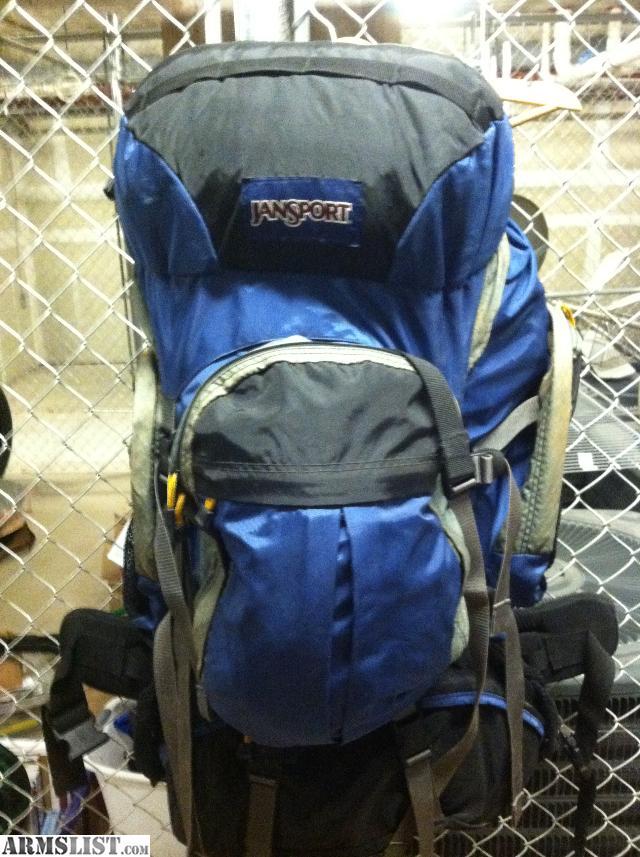 ARMSLIST - For Sale: Jansport Backpack large