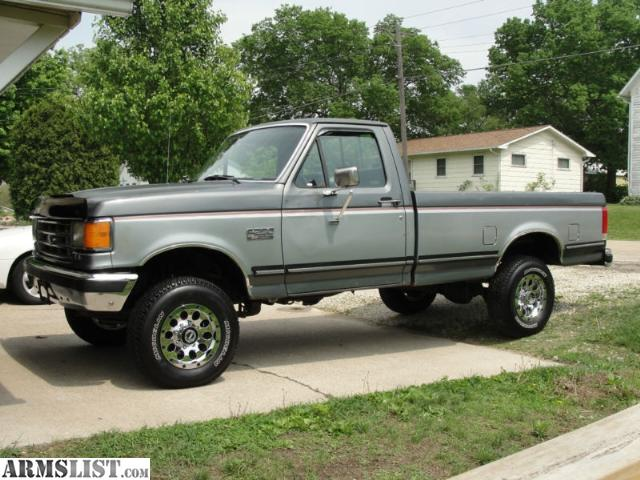 ARMSLIST - For Sale/Trade: 1988 Ford F250 4x4 5.0L 5spd