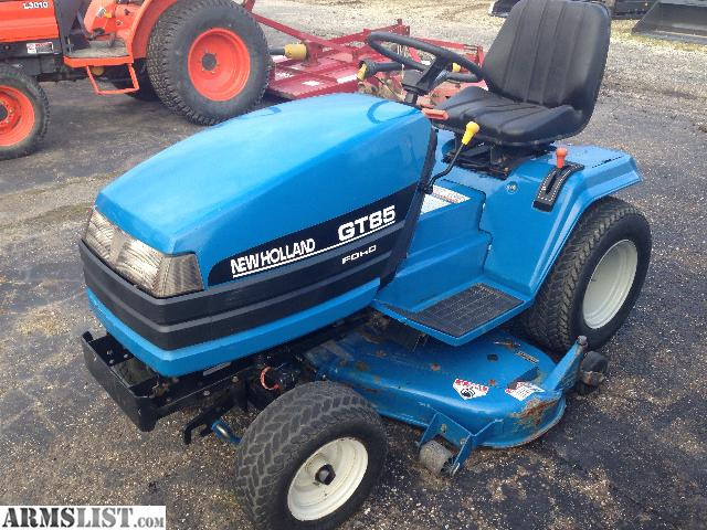 Shaft Drive Riding Lawn Mowers : Armslist for sale quot new holland ford gt shaft