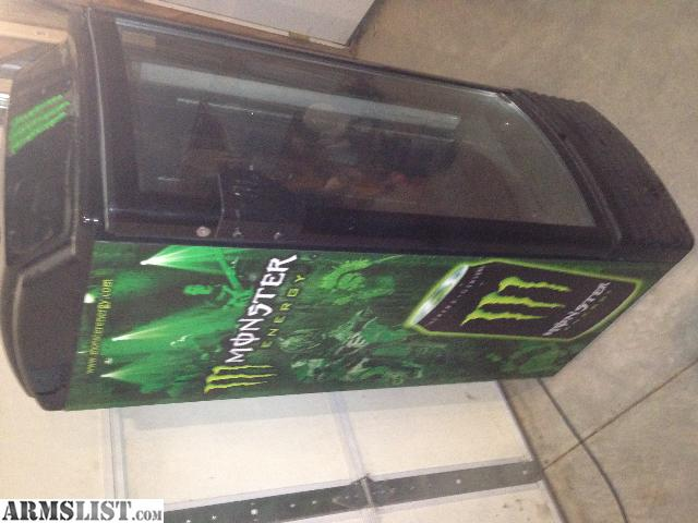 Man Cave Refrigerator For Sale : Armslist for sale monster energy fridge man cave