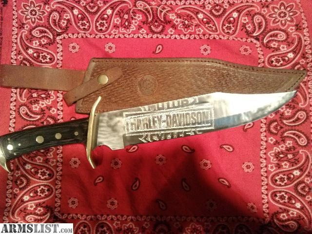 armslist for sale harley davidson bowie knife. Black Bedroom Furniture Sets. Home Design Ideas