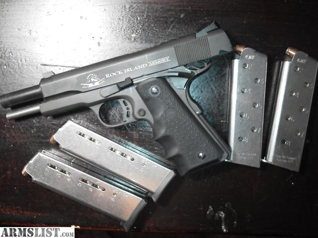 ARMSLIST - For Sale: Rock Island Armory Armscor M 1911 -A1 ...