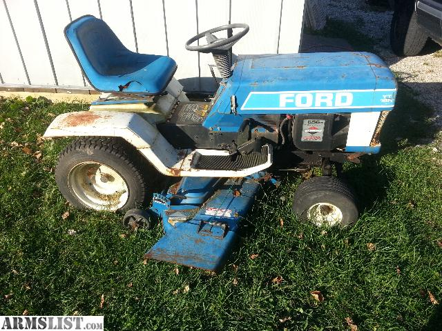 armslist for sale trade ford riding lawn mower. Black Bedroom Furniture Sets. Home Design Ideas