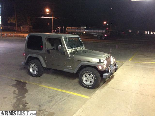 armslist for sale 2005 jeep wrangler sport hard top all stock 6cyl perfect 150 000 miles auto. Black Bedroom Furniture Sets. Home Design Ideas